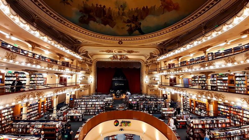 Virtual Tours Buenos Aires El Ateneo